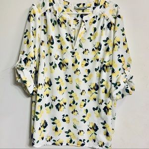 Dalia Lemon Plus Blouse